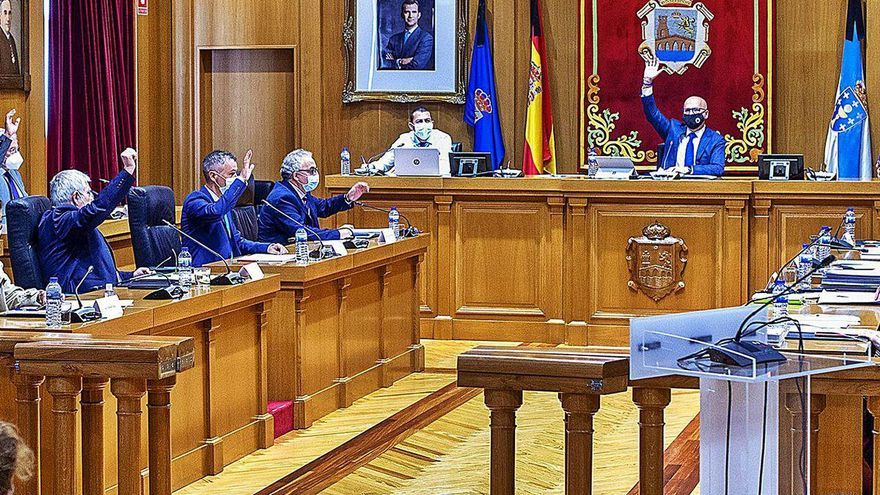 Baltar aprueba sus presupuestos de 2021 con apoyo de un díscolo de DO y de C´s