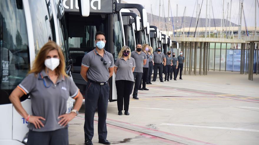 Diez autobuses menos contaminantes y más eficientes para Cartagena