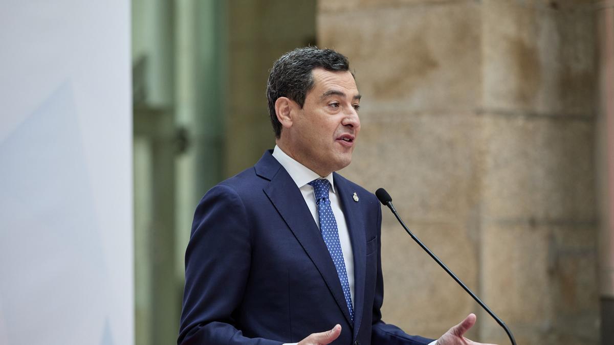 El presidente de la Junta de Andalucía, Juanma Moreno, en una imagen de archivo.