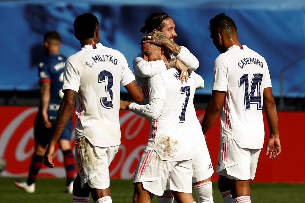 Las imágenes del Real Madrid - Huesca