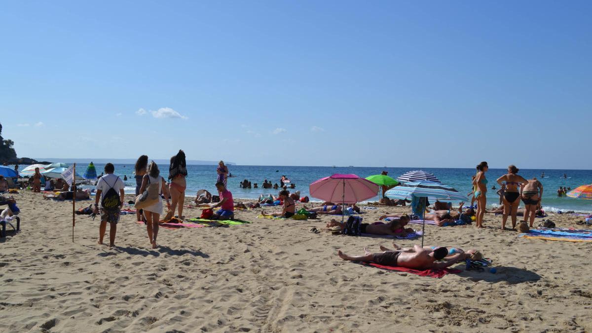 Foto de archivo de la playa de Cala Major