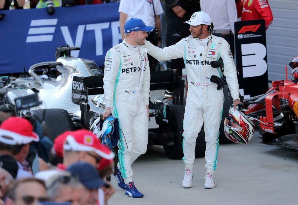 Gran Premio de Rusia de Fórmula Uno.