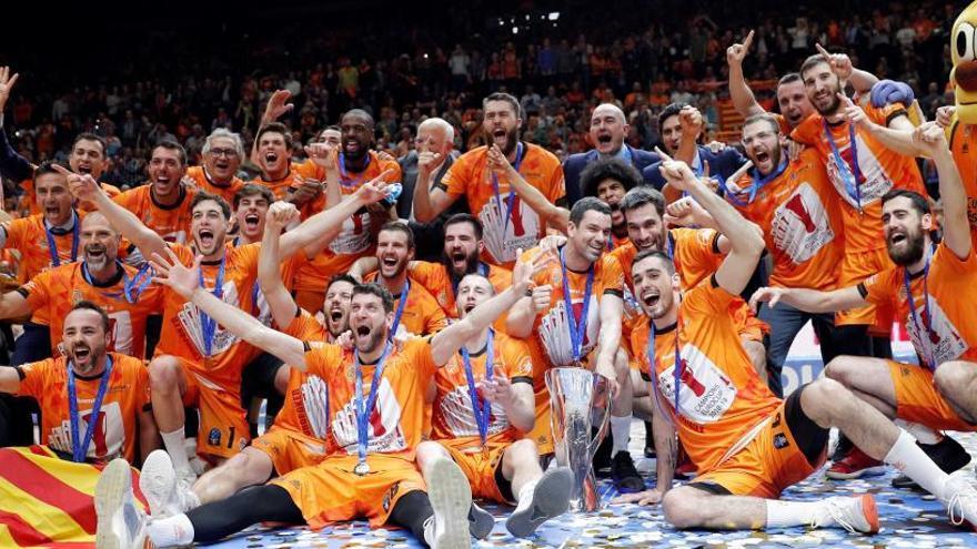 El Valencia Basket conquista su cuarta Eurocup