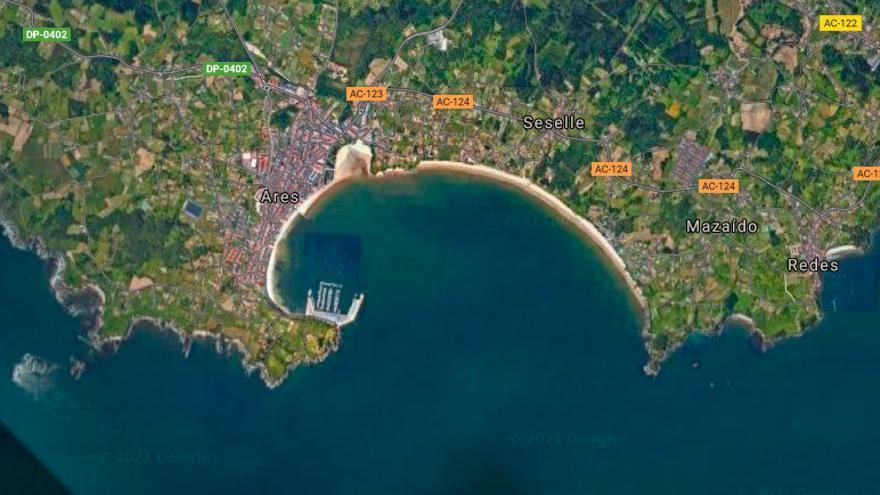 Encontrado el cuerpo sin vida de un hombre en el mar de A Coruña
