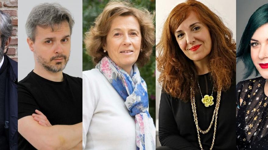 Cinco superventas para un nuevo y telemático 'Escritores en su tinta'