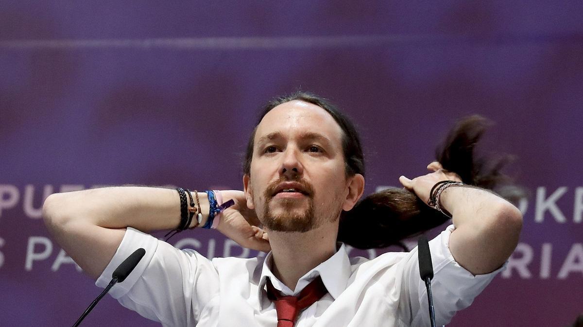 Pablo Iglesias, líder de Podemos y vicepresidente del Gobierno.