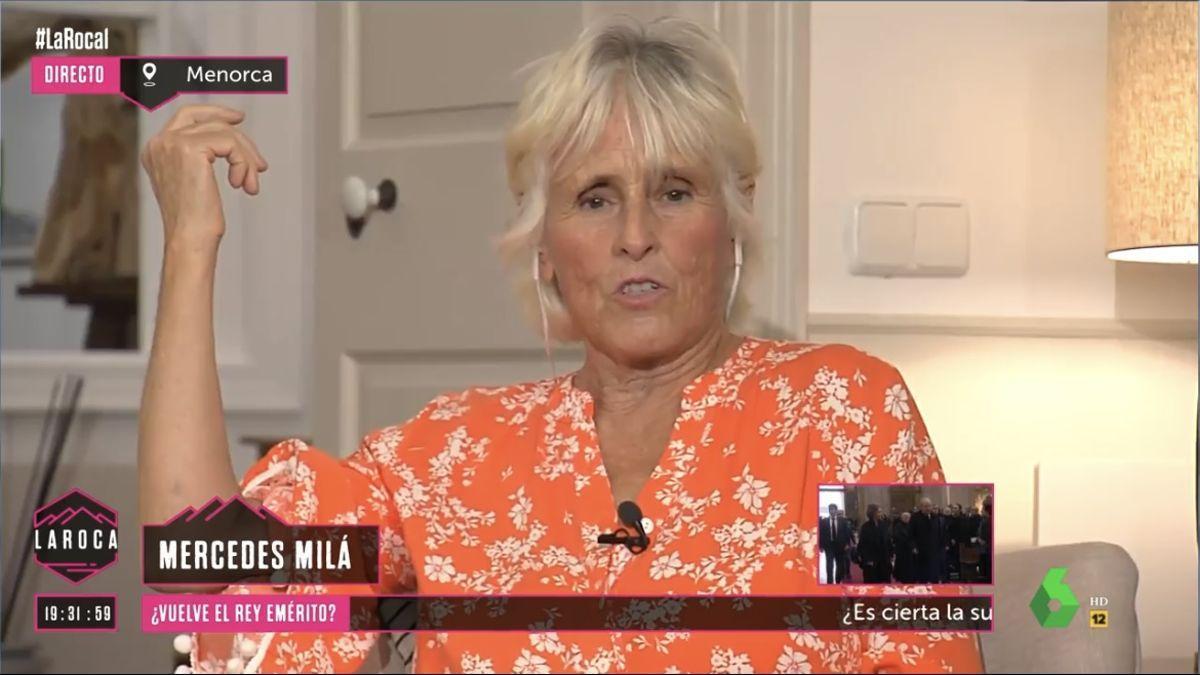 Mercedes Milá en 'La Roca'.