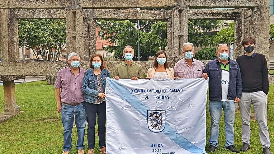 La élite de Galicia regatea en Meira
