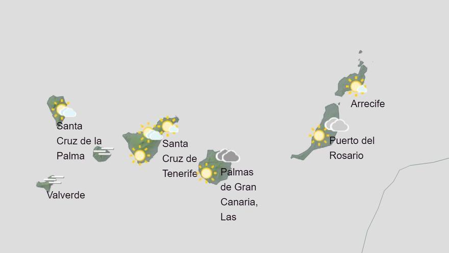 Vuelven las lluvias a las Islas a partir de mañana viernes