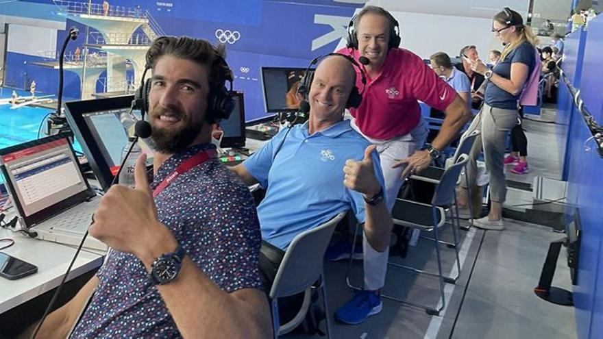 La nueva vida de Michael Phelps