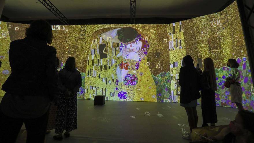 Un baño en el oro de Klimt