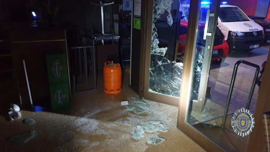 Detenido por un robo con fuerza en un establecimiento de Ibiza