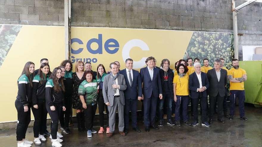 CdeC renueva su patrocinio con el Lavadores
