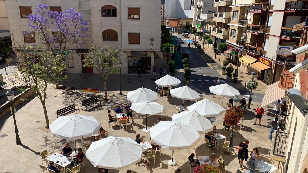 Plaza del Ayuntamiento de l'Eliana.