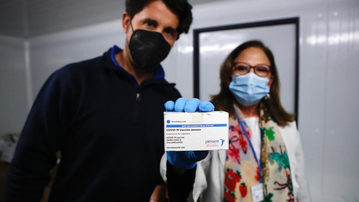 Las vacunas de Janssen han llegado este jueves a Córdoba