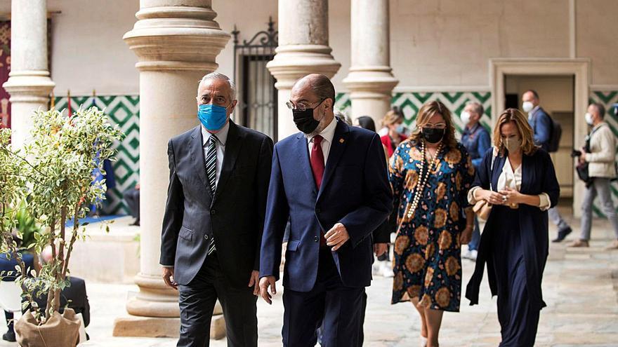 Aragón irá a los tribunales si el Gobierno acepta a Puig un fondo compensatorio