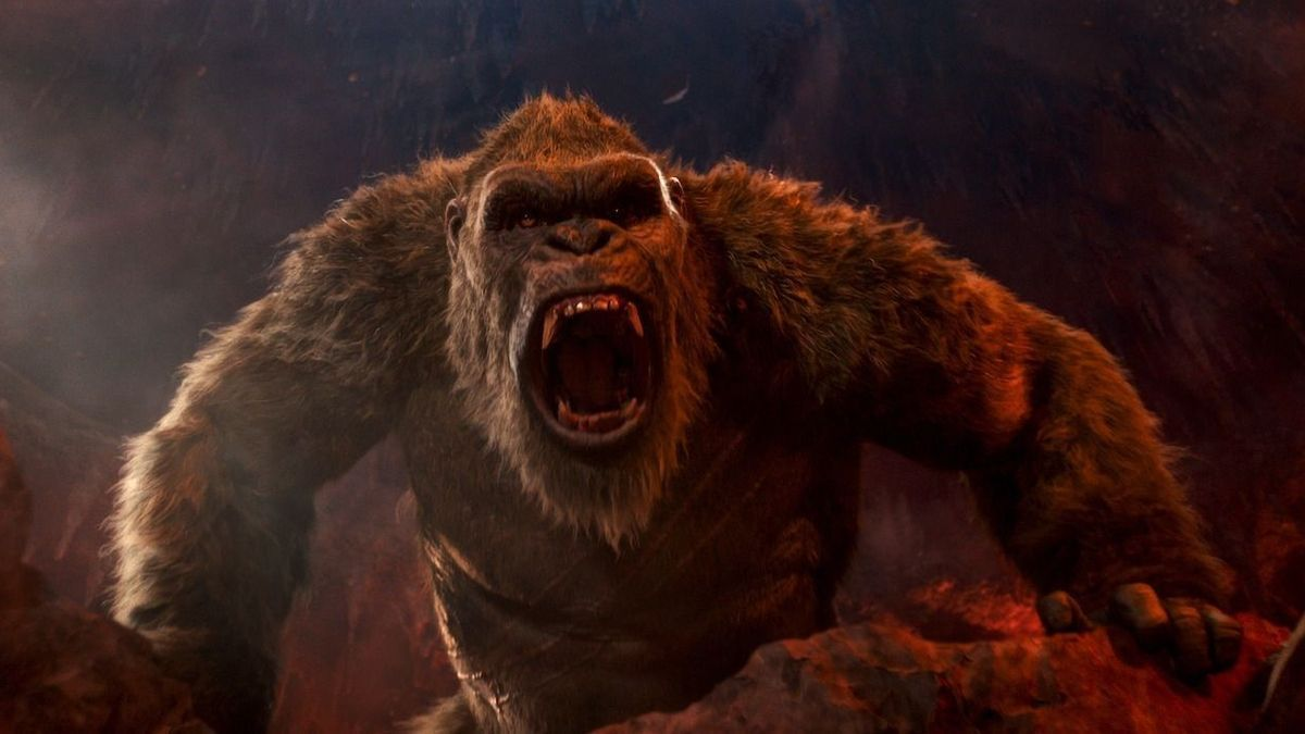 Una imagen de la película 'Godzilla vs. Kong'.
