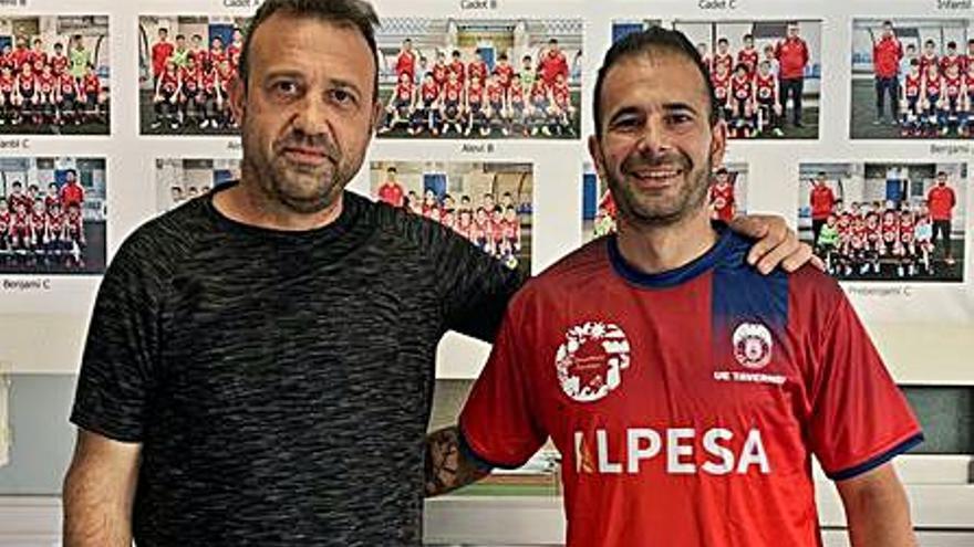 La UE Tavernes refuerza su plantilla con el centrocampista José Parra