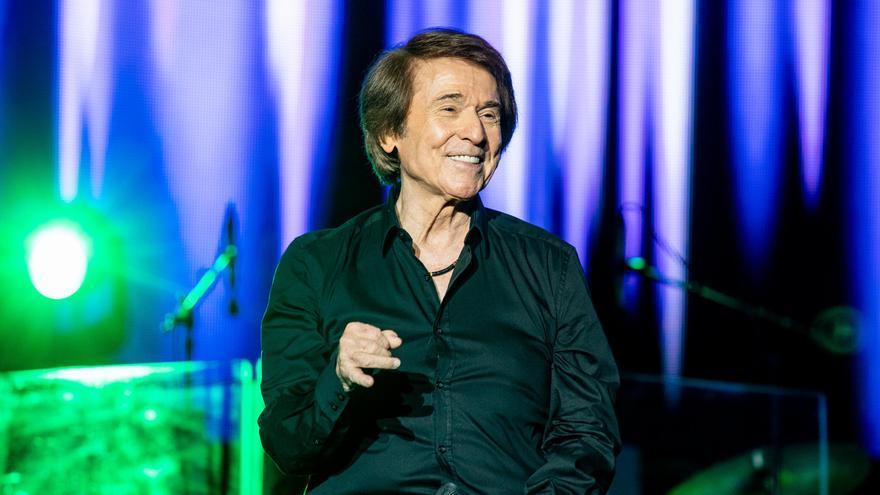 Raphael actuará el 11 de septiembre en la Ciutat de les Arts