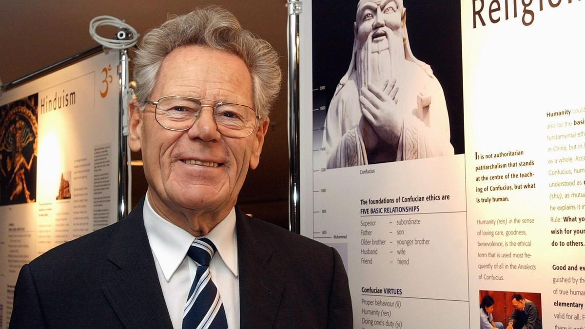 El teólogo católico suizo Hans Küng