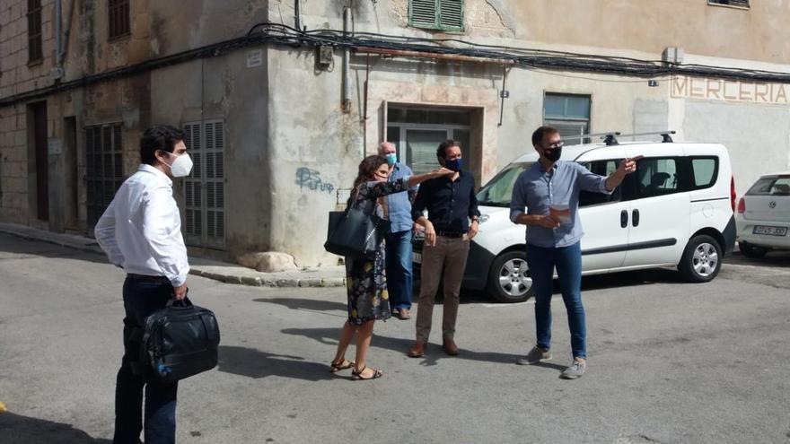 El Govern aporta 318.000 euros para rehabilitar viviendas del casco antiguo de Manacor