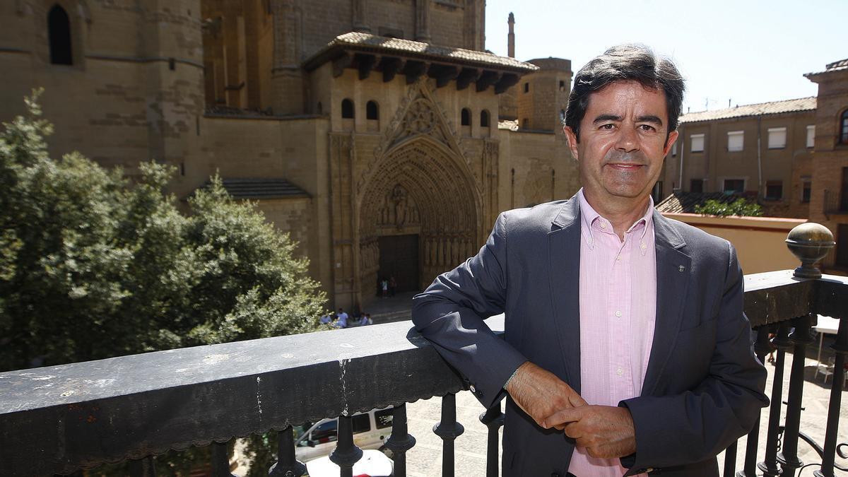 El alcalde Huesca, Luis Felipe.