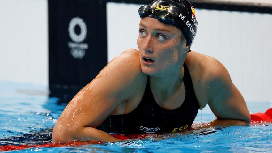 Mireia Belmonte cau en les preliminars dels 800 lliure i s'acomiada de les medalles