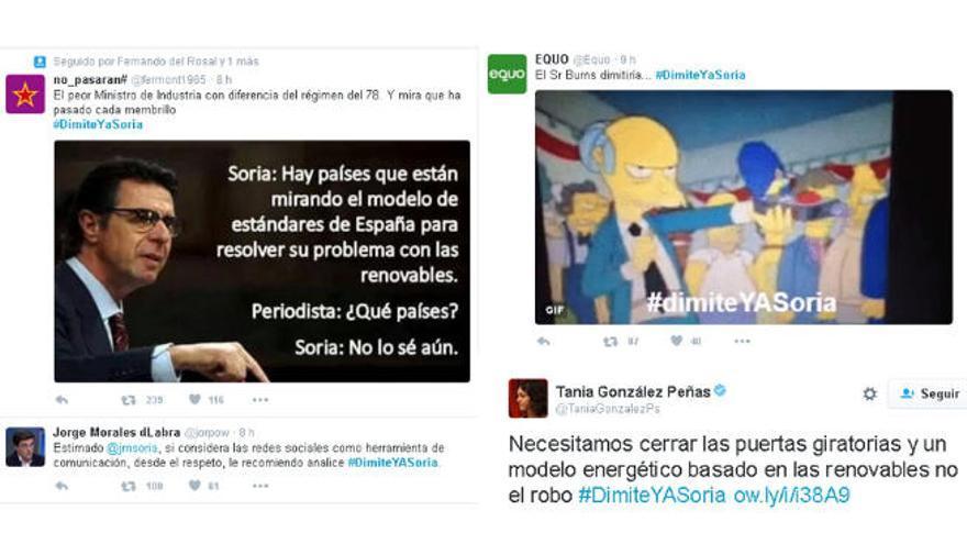 Soria reina en Twitter al calor del sol