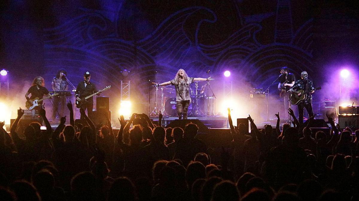 Sopa de Cabra, l'any passat en concert al festival Sons del Món de Roses. | ACN