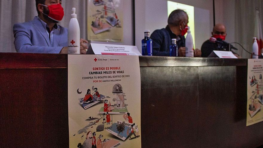 El Sorteo del Oro suma el 7% de los ingresos anuales de Cruz Roja en Zamora