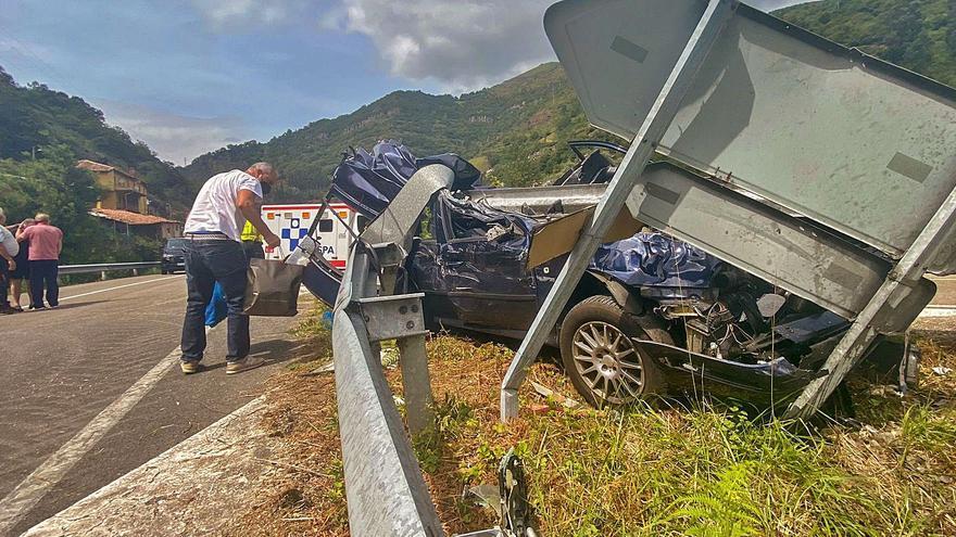 """Una mujer, herida en un grave accidente en el Corredor: """"Salvó la vida de milagro"""""""
