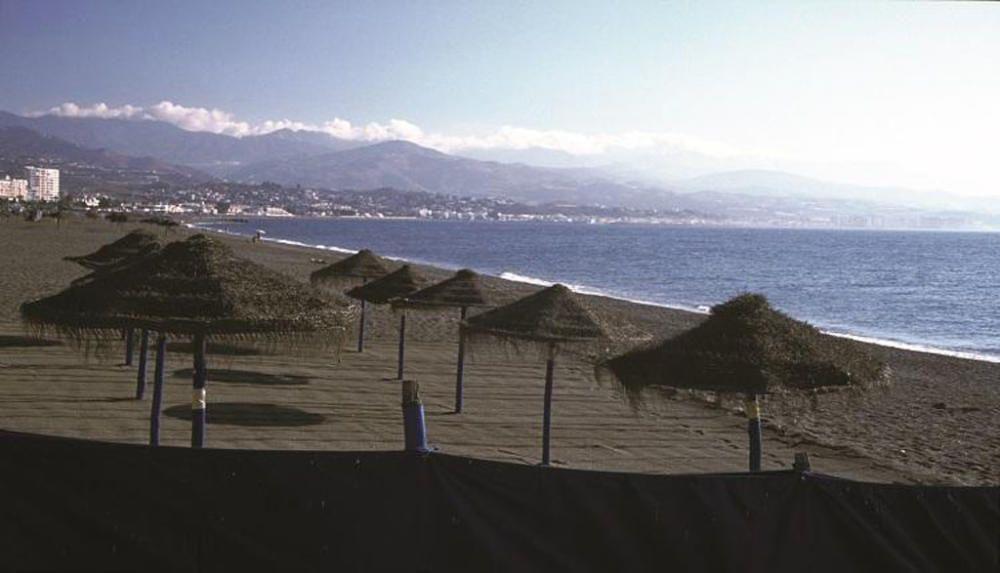 La playa de Torre del Mar.