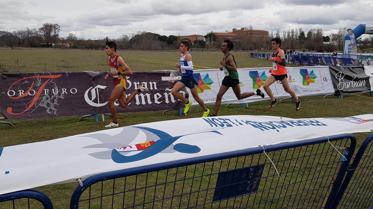 Tres atletas de Zamora, en el Nacional de Campo a Través