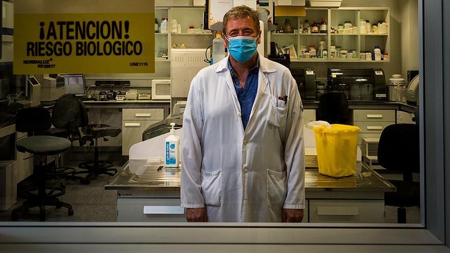 """Santiago Melón, máxima autoridad regional en virología: """"El cribado del Nalón no es útil"""""""