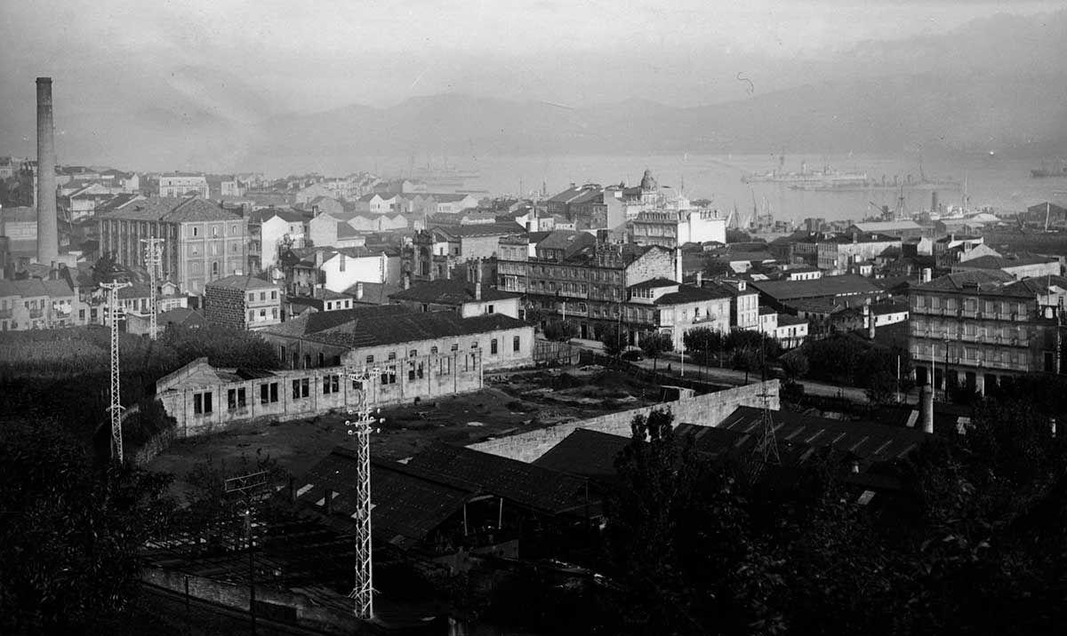 Vista Panorámica desde la Explanada de la Estación 1920 -1936