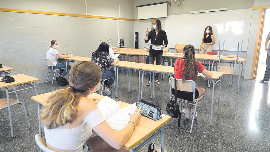 Más de 900 alumnos de Castellón se apuntan a las pruebas de acceso a la FP