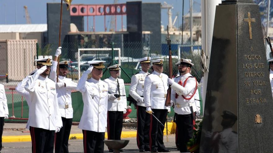La Infantería de Marina conmemora su aniversario en el Arsenal