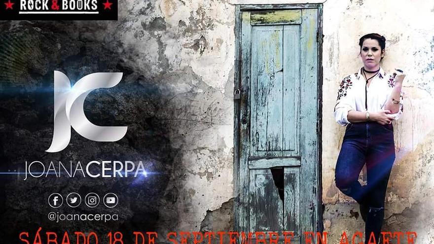 Festival Rock & Books: Concierto de Joana Cerpa