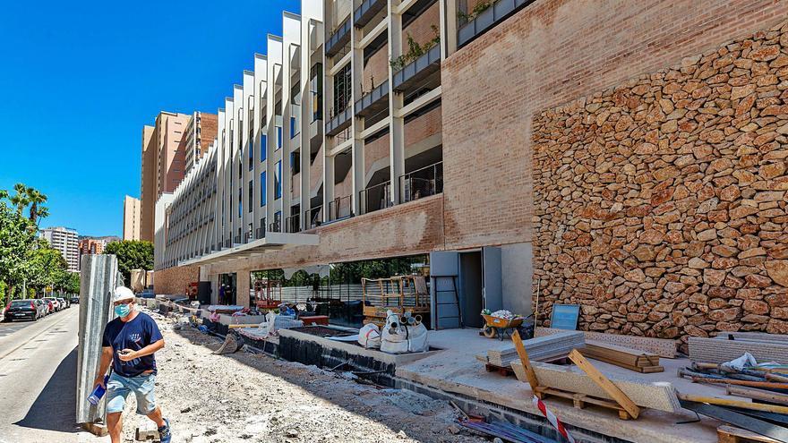 Otro retraso en la obra del Centro Cultural de Benidorm deja al Conservatorio sin aulas