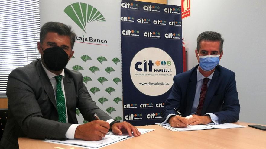 Unicaja Banco y CIT Marbella continúan de la mano