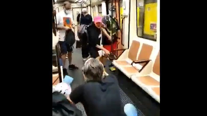 Pierde un ojo el sanitario agredido en el metro al pedir a una persona ponerse la mascarilla