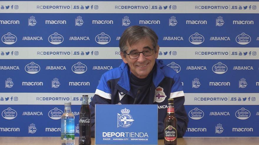 """Fernando Vázquez: """"Estoy contento en líneas generales; el empate es justo"""""""