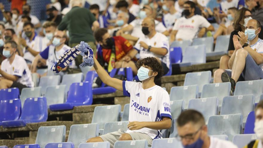 El Real Zaragoza hace 17.900 socios en tres semanas de campaña