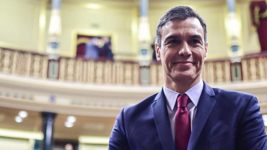 Sánchez presenta el seu nou executiu: «Aquesta ha de ser la legislatura del diàleg»