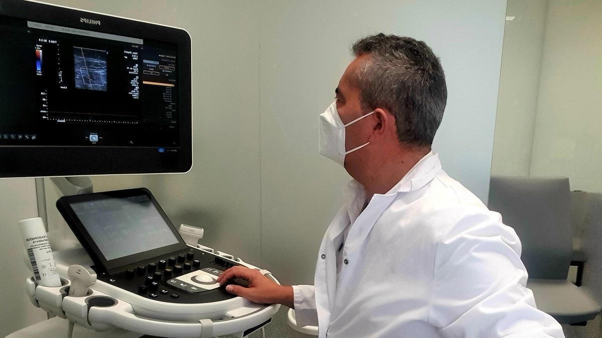 Consulta de de Angiología y Cirugía Vascular en el Hospital Quirónsalud Córdoba.