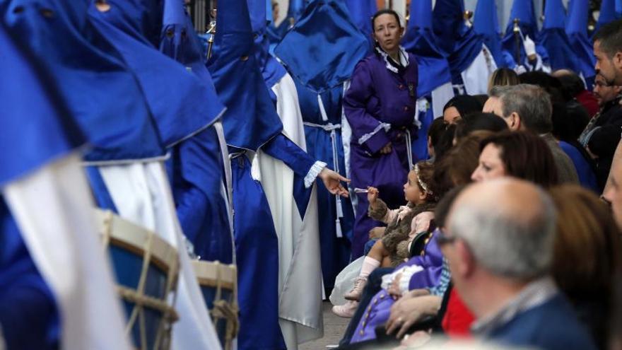 La venta de caramelos se desploma al anularse otro año la procesión de Alzira