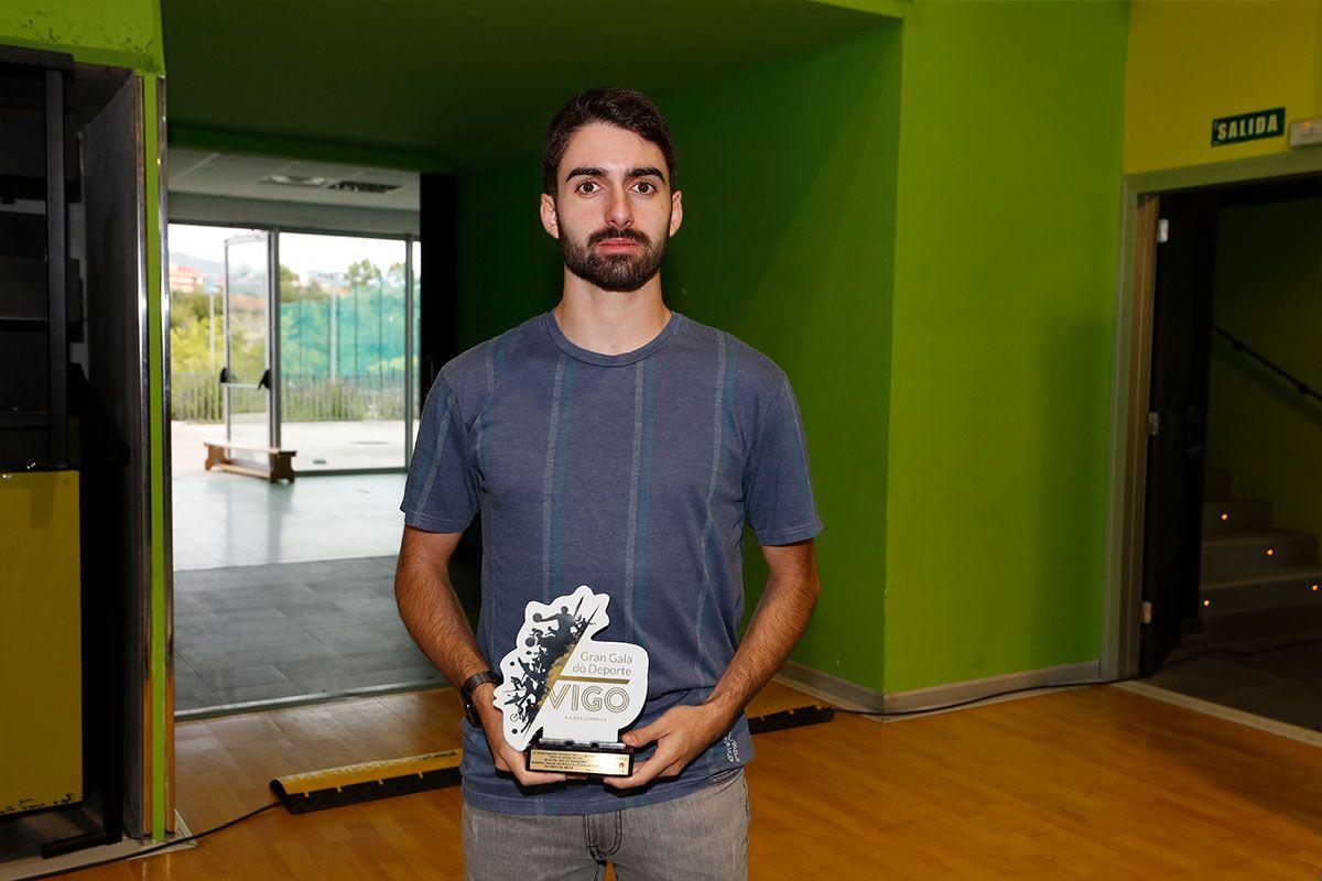 Martín Pintos, jugador de tenis de mesa