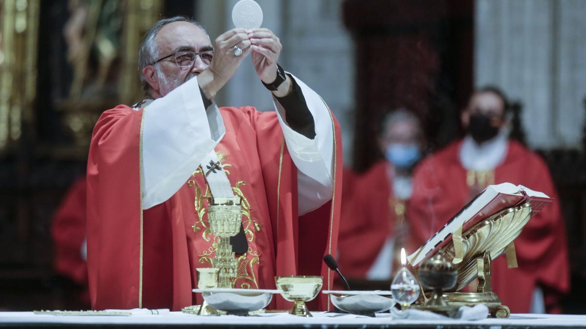 El Arzobispo Jesús Sanz Montes
