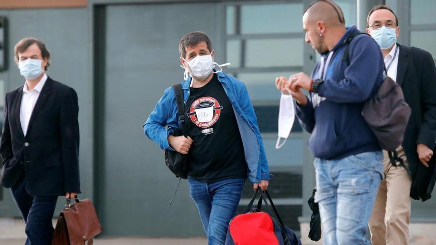 Jordi Sànchez sale de la cárcel para volver a su labor de voluntariado