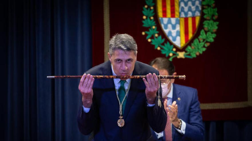Albiol recupera la alcaldía de Badalona cinco años después